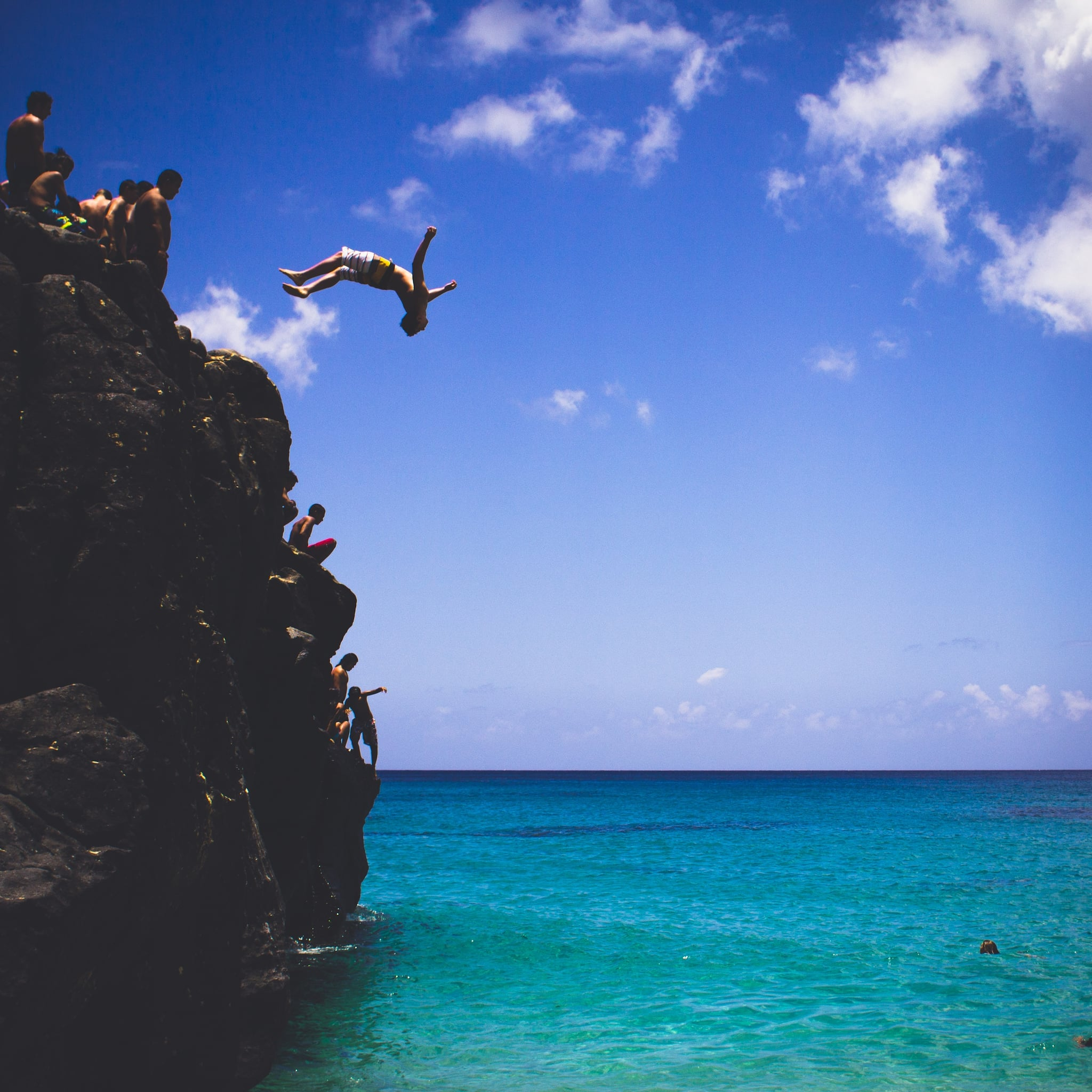 Jump off a cliff 100 things to do before you die popsugar smart living - Highest cliff dive ever ...
