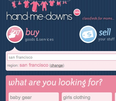 Website of the Day: Hand-Me-Downs