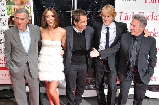 Pictures of Jessica Alba, Owen Wilson, Ben Stiller, Robert De Niro, and Dustin Hoffman at the Premiere of Little Fockers 2010-12-16 08:45:00