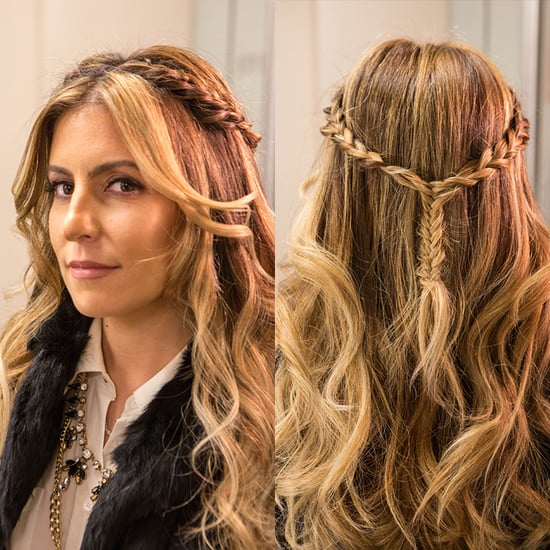 Braided Half-Up Hairstyle