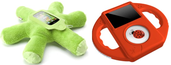 Tadpole and Woggie iPod Holders For Kids