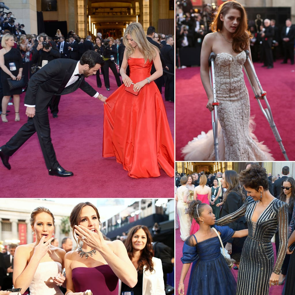 The 20 Best Candid Oscars Red Carpet Pictures