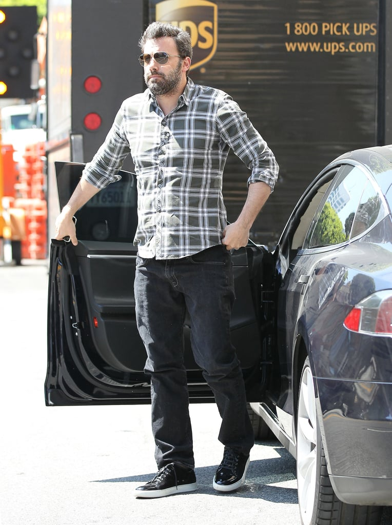 Ben Affleck went to a meeting in LA.