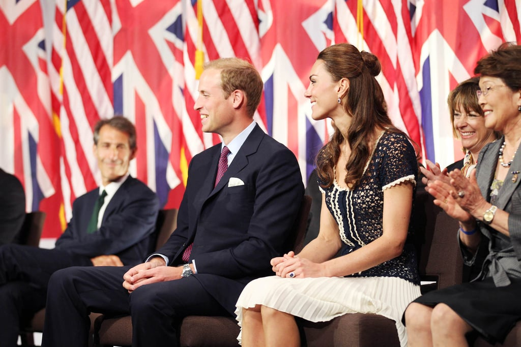 Kate Middleton and Prince William at ServiceNation event in LA.