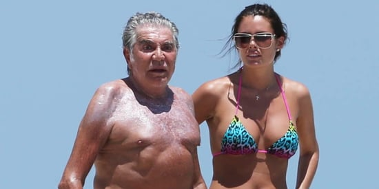 Roberto Cavalli Hits The Beach With Much Younger Girlfriend