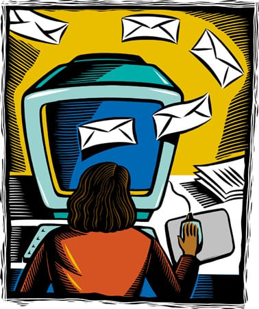 The How-To Lounge: Coping with Excessive E-mail