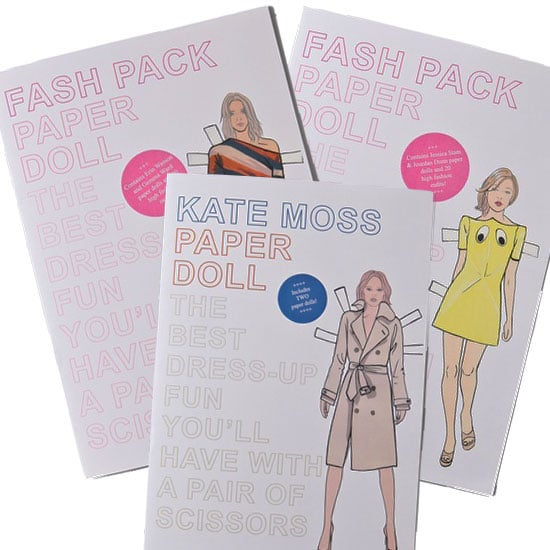 """Allison and I share an intense love of models and will always carry a torch for Kate Moss. So what better gift for my best fashionable friend than a set of her very own model paper dolls? Whether she's styling Moss in of-the-moment flares, slipping Erin Wasson into Christopher Kane, or laying the Louis (Vuitton) on Jessica Stam, I have a feeling Allison will find endless enjoyment in this model-centric gift."" — Liza Kaplan, FabSugar associate producer  Books with Style Paper Dolls ($15/each)"