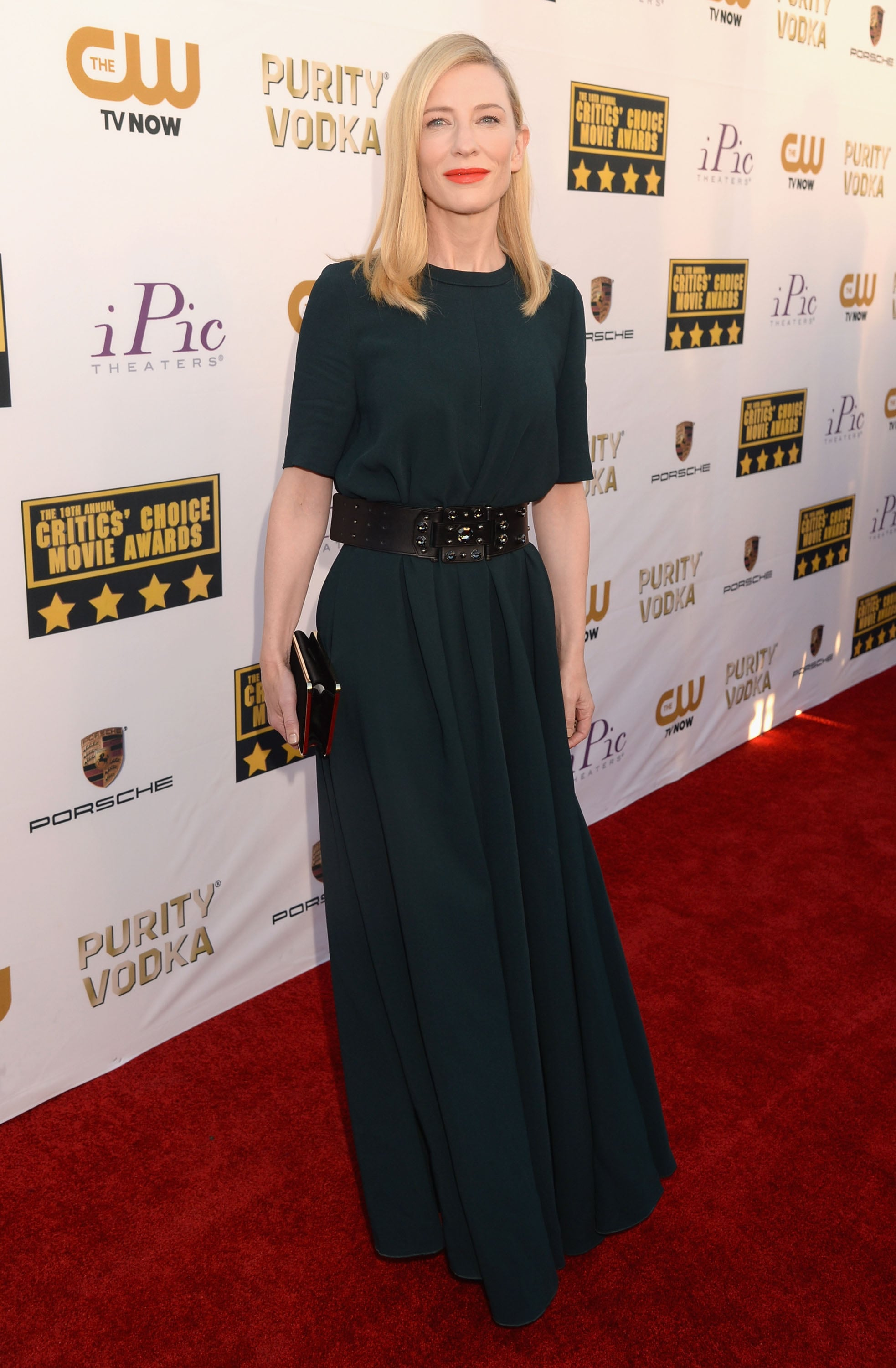 Cate Blanchett at the Critics' Choice Awards 2014