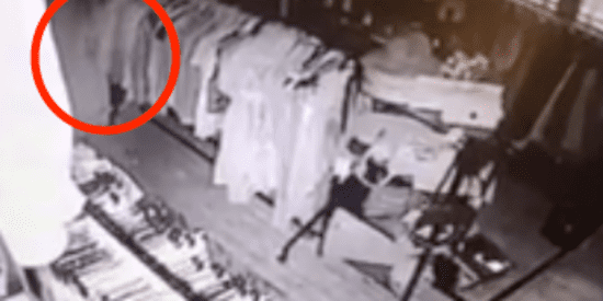 'Ghost' Caught On Camera Browsing Around Antiques Store
