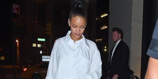 Did Rihanna Wear Drake's Tuxedo Shirt As A Dress After The VMAs? An Investigation