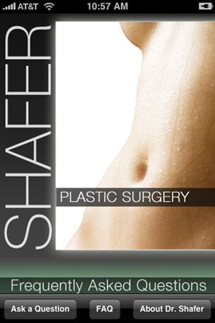 iPhone's First Plastic Surgery App