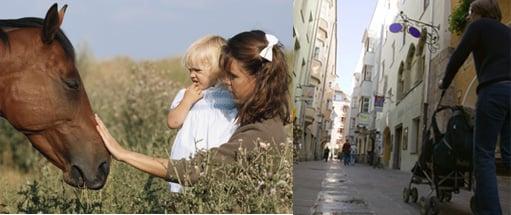 Raising Baby: Urban Area or Suburbia?