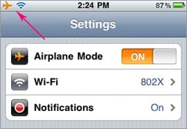 Use Your iPhone's WiFi While on a Plane