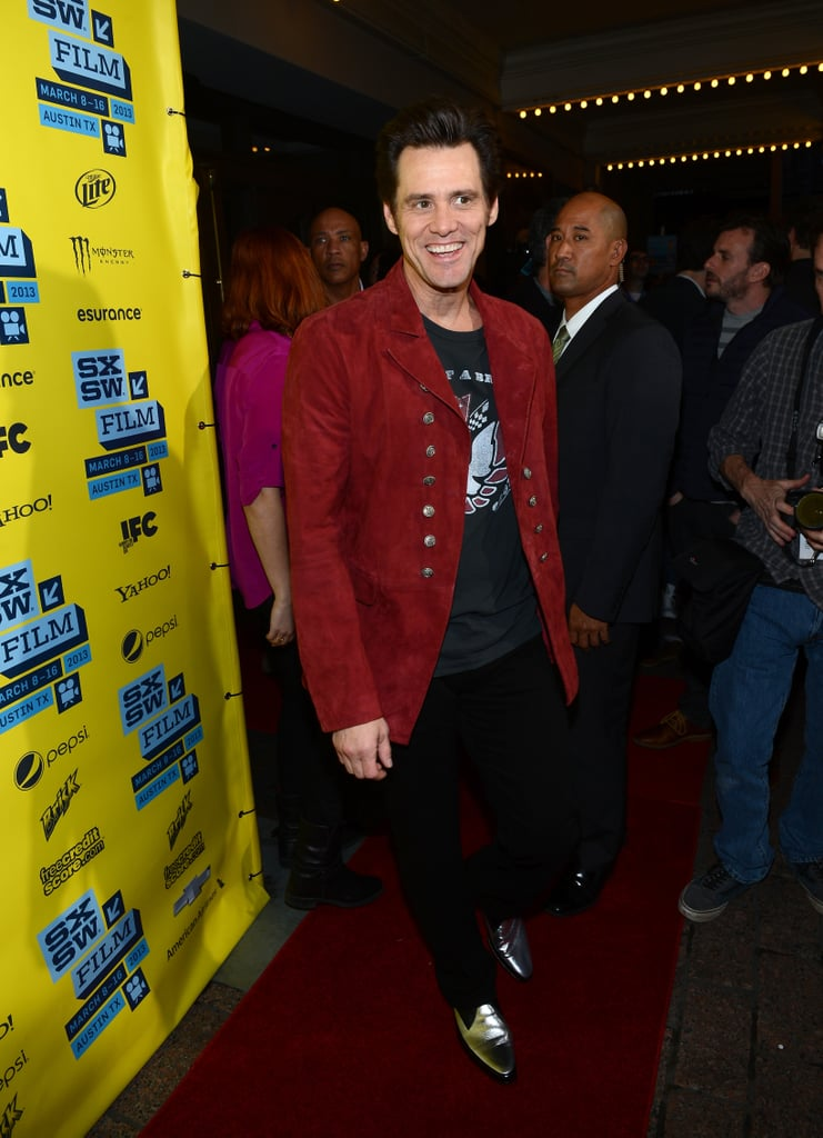 Jim Carrey was in Austin last night for the world premiere of his new comedy The Incredible Burt Wonderstone.
