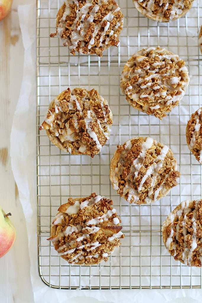 Iced Oatmeal Cookie Apple Pies