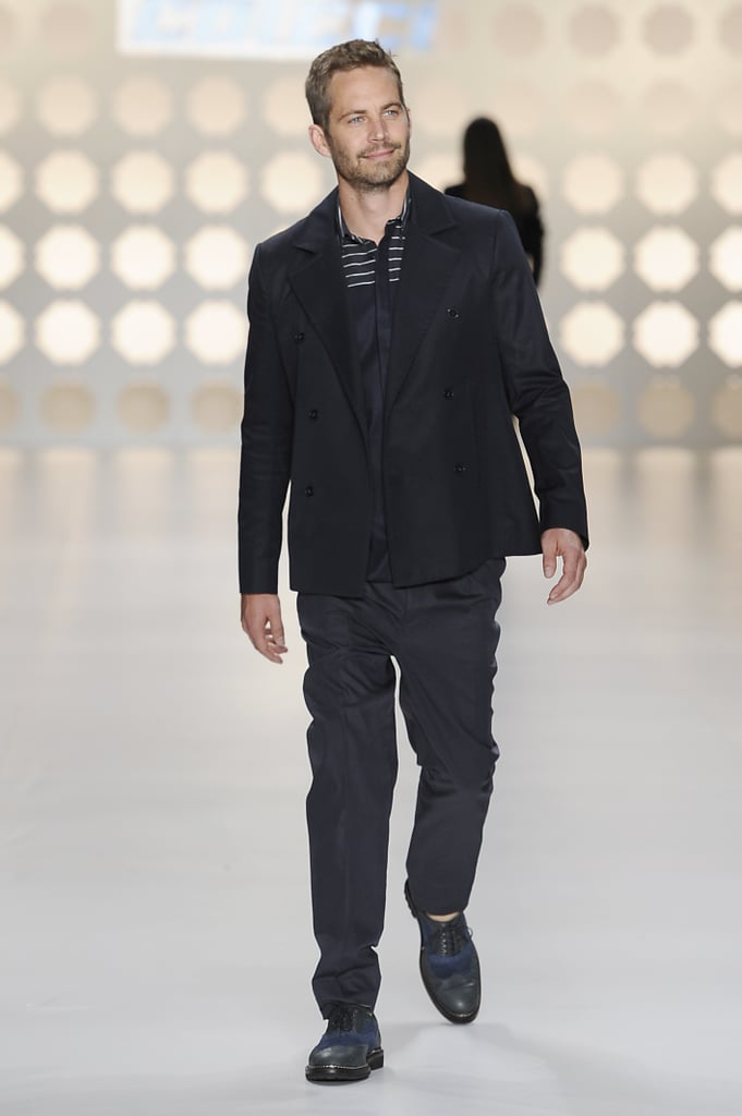He walked the runway for Colcci during São Paulo Fashion Week in Brazil in March 2013.