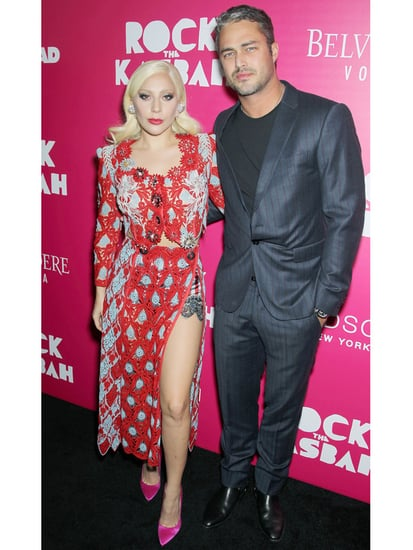 Lady Gaga and Taylor Kinney Ignite the Red Carpet in Complementary Looks