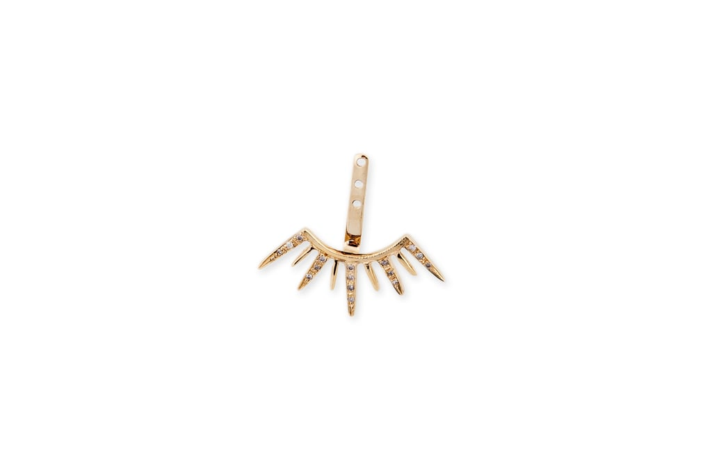 Jacquie Aiche 14k Diamond Starburst Ear Jacket ($1,250) Shop more styles: