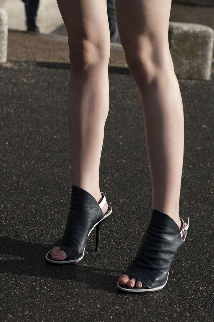 Balenciaga heels had sex appeal — and cool-girl appeal.