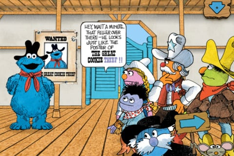 The Great Cookie Thief . . . A Sesame Street App Starring Cookie Monster