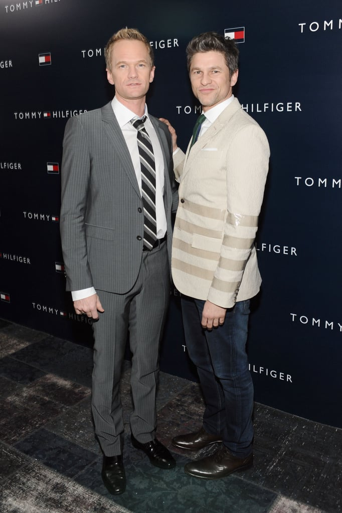 Neil Patrick Harris and David Burtka walked the carpet together.