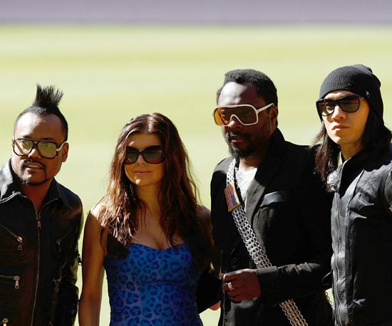 Slide Picture of The Black Eyed Peas at World Cup Kick-Off