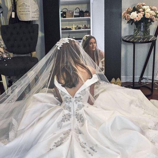 Nicole Trunfio Wedding Dress Steven Khalil