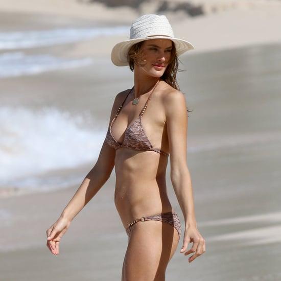 Alessandra Ambrosio in a Bikini in St. Barts | Pictures