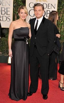 Photos of Kate Winslet and Leonardo DiCaprio at 2009 Golden Globe Awards