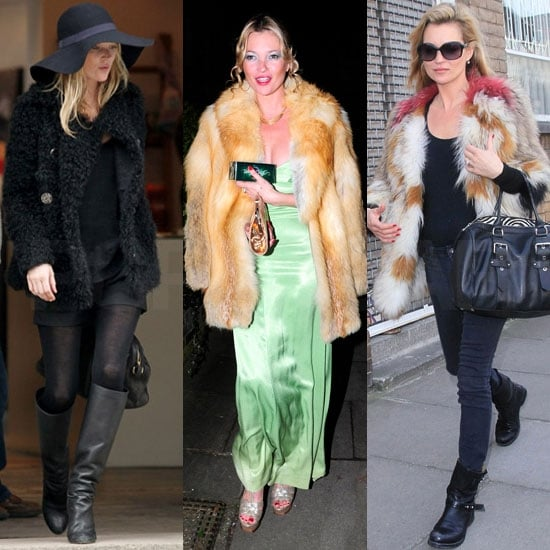 Pictures of Kate Moss Heading to a Dinner Party With After Eight Mints
