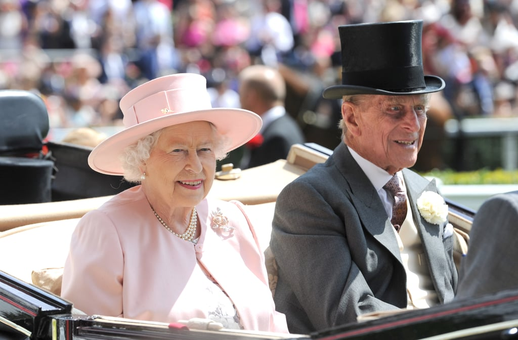 Queen Elizabeth II and Prince Philip were in high spirits at the Royal Ascot festivities on Saturday.