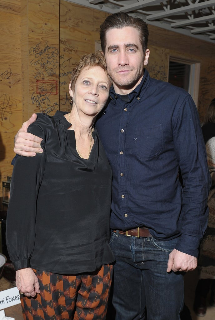 Jake Gyllenhaal hung out with his mum, Naomi Foner, at the after party for Very Good Girls in 2013.