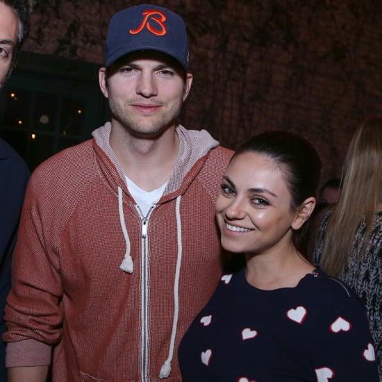Mila Kunis and Ashton Kutcher Out at SXSW 2015
