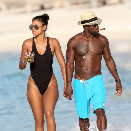 Kevin Hart and Eniko Parrish Honeymoon Pictures