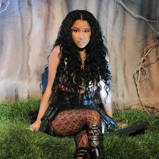 Snake Bites Nicki Minaj's Backup Dancer at VMAs Rehearsal