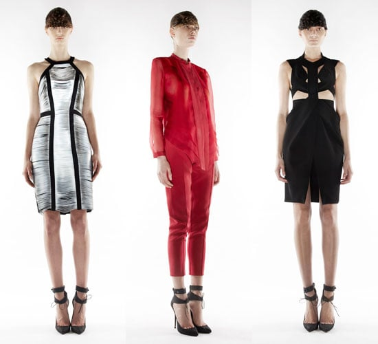 Runway Review and Pictures from Dion Lee's Presentation at 2012 A/W London Fashion Week