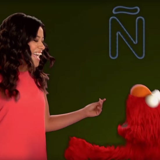 Gina Rodriguez Rapping the ABCs in Spanish With Elmo | Video