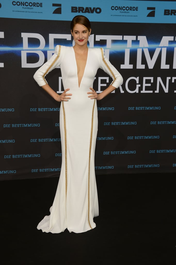 Shailene Woodley at the Berlin <b>Divergent</b> Premiere