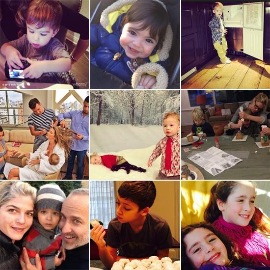 Celebrity Moms' Instagram Pictures Week of Dec. 8, 2013