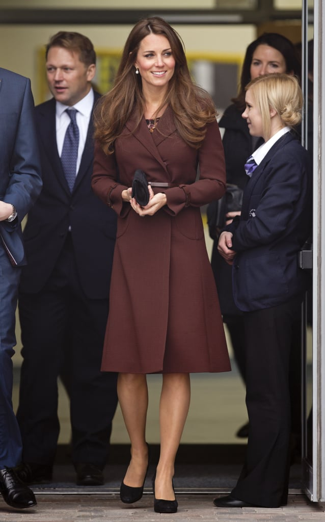 Kate Middleton at Havelock Academy in 2013