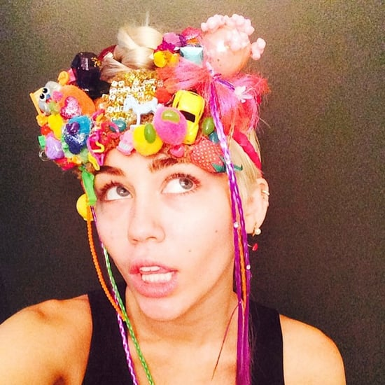 "Miley on Her Art: ""Money Can Buy You a Bunch of Sh*t to Glue to a Bunch of Other Sh*t"""