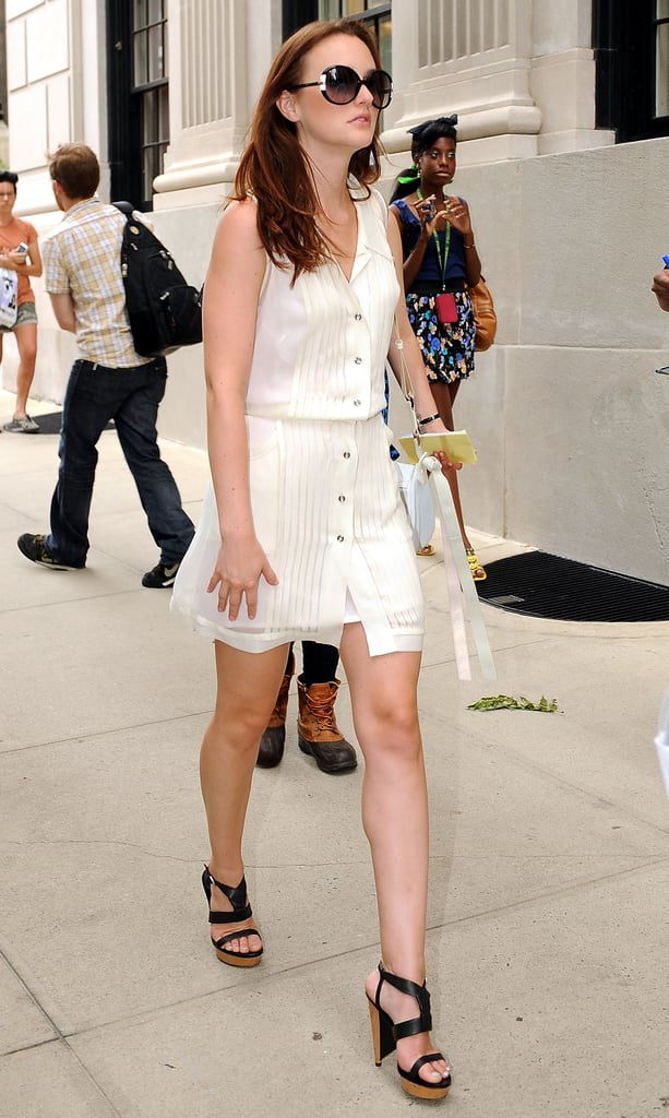 2010, On Location For Gossip Girl