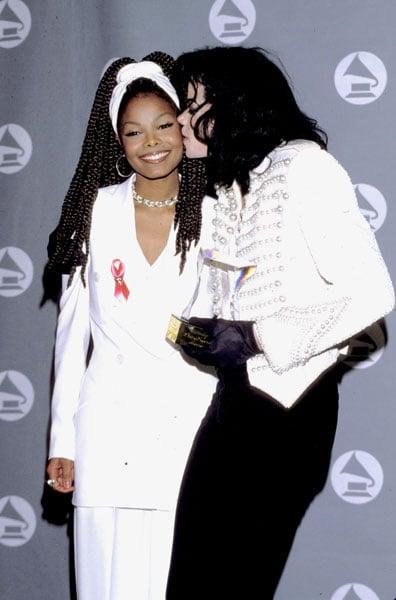 Michael and Janet Jackson