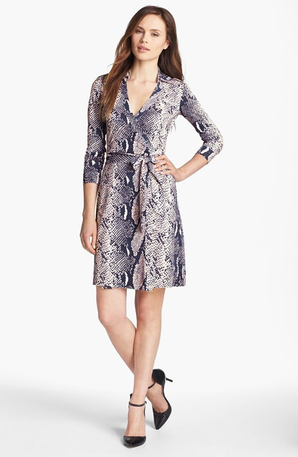 Even if you think your closet has all the dresses it needs, we guarantee you can still fit one more classic wrap ($240, originally $365) from Diane von Furstenberg.
