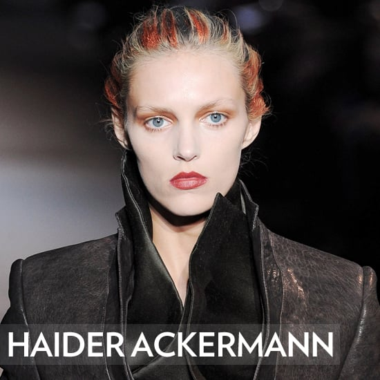 Haider Ackermann Hair Fall/Winter 2012