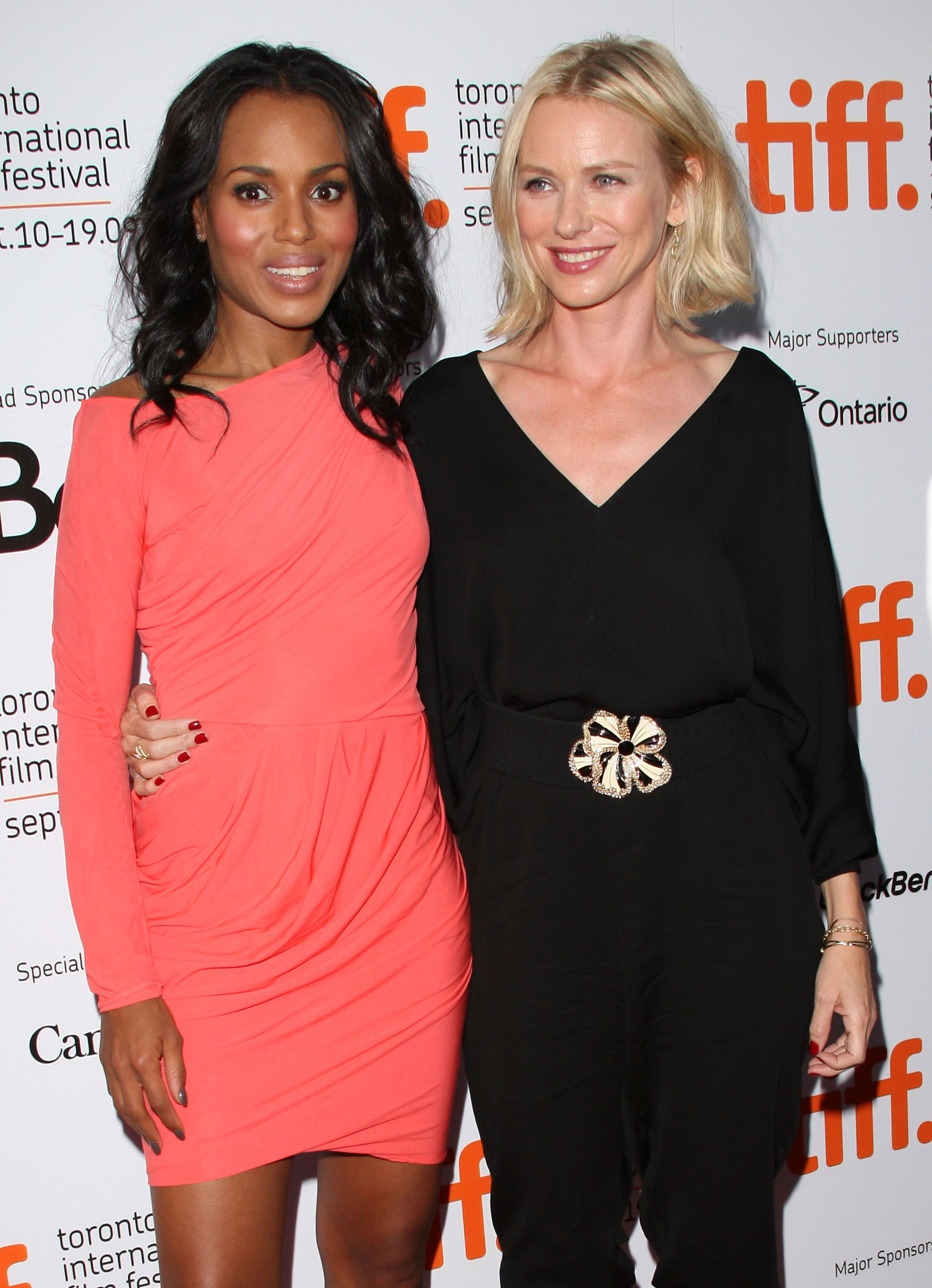 She and Naomi Watts Are Same-Height Pals