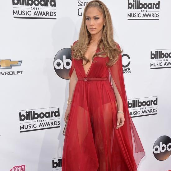 Jennifer Lopez in Donna Karan at the Billboard Music Awards