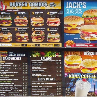 Jack in the Box Drops Menu Items, Toys From Kids' Meals