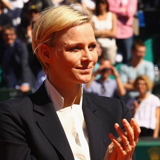 Princess Charlene of Monaco Crops Her Hair