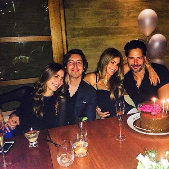 Sofia Vergara and Joe Manganiello Celebrate Her Birthday